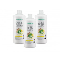 Aloe Vera Gel Bebível Limão/Gengibre e Mel