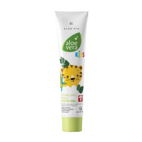 Aloe Vera Jungle Friends Gel dentífrico